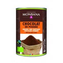 Monbana Chocolat Bio Non Lacte