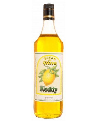 Bout.Sirop Keddy Citron - 1 L