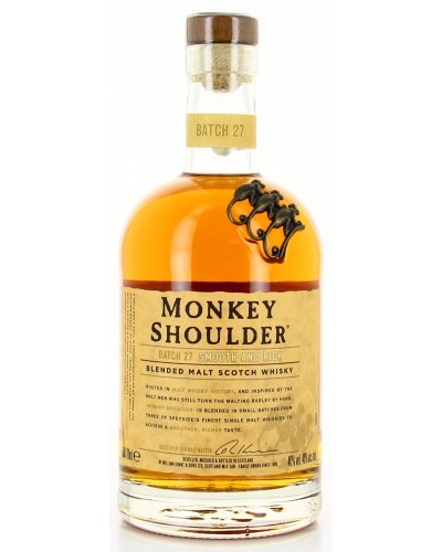 Monkey Shoulder 70CL 40 ° X01